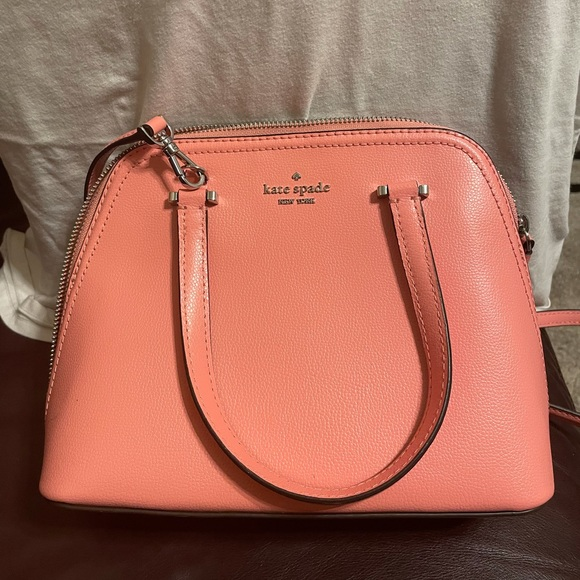 Coral Kate Spade Crossbody Handbag